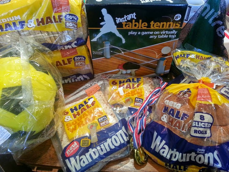 Warburtons Half And Half Summer Of Sport Hamper Contents
