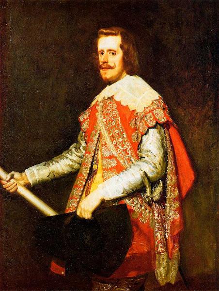 Диего Веласкес - Портрет Филиппа iv, короля Испании (1644)