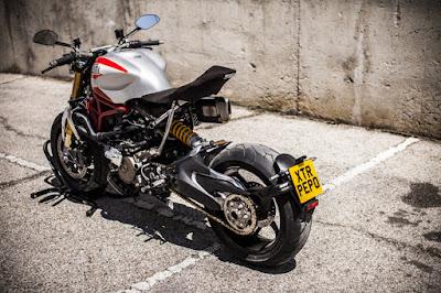 Ducati Monster 1200 S Custom by XTR Pepo