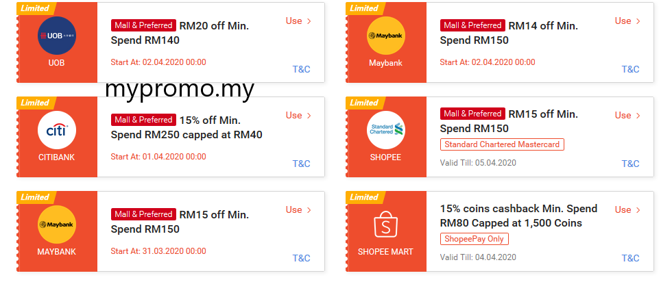 Shopee Voucher Codes Collect Now Promo Codes My