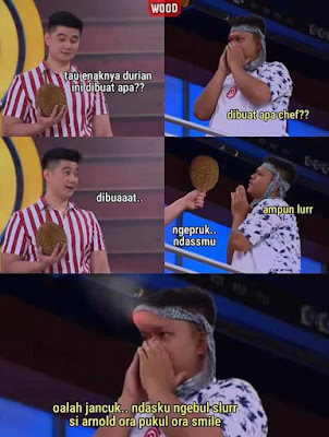 Meme MasterChef Indonesia 2019 - Durian