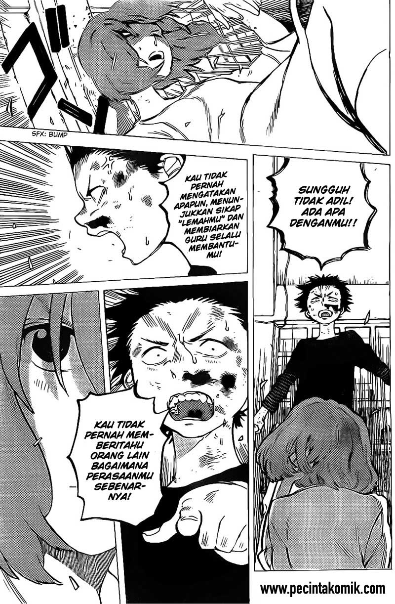 Koe no Katachi Chapter 04-17