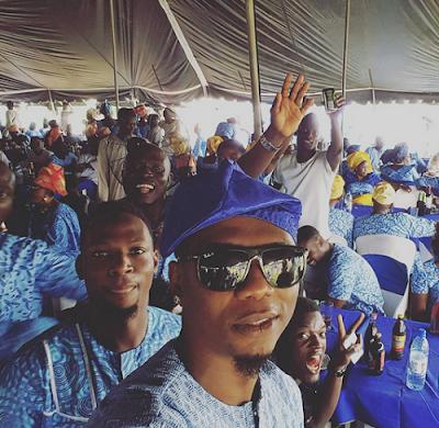 Alaga Ibile Rapper Reminisce buries dad in Ogun State.