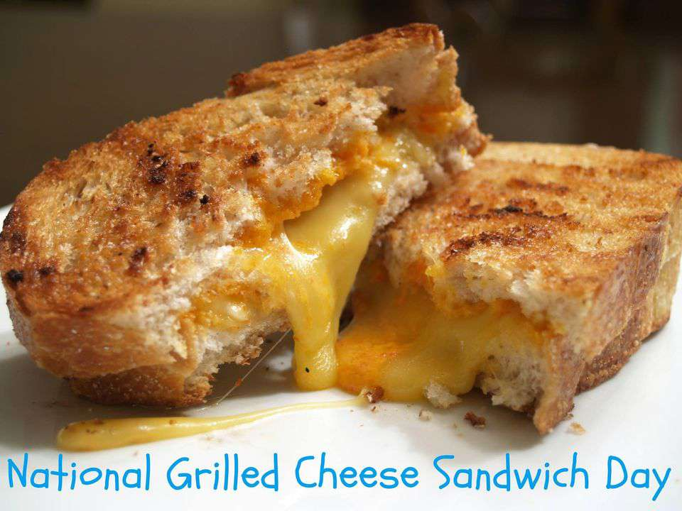 National Grilled Cheese Sandwich Day Wishes Images