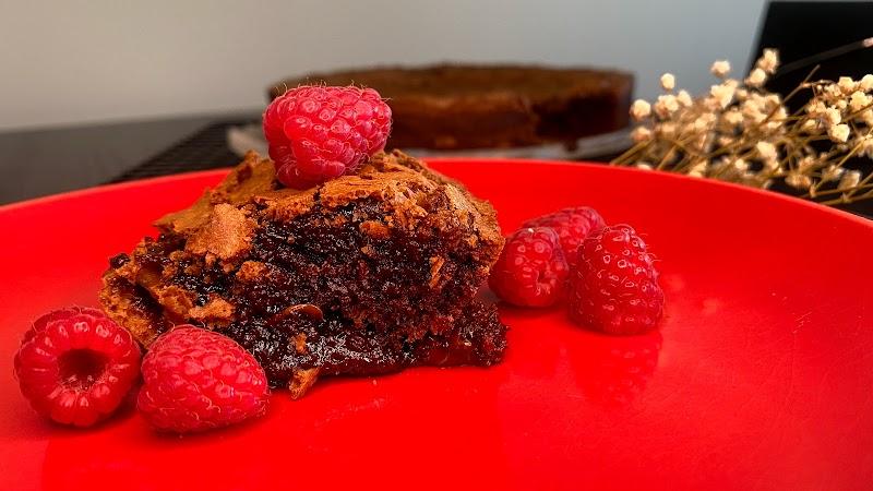 Brownie de chocolate negro 70%