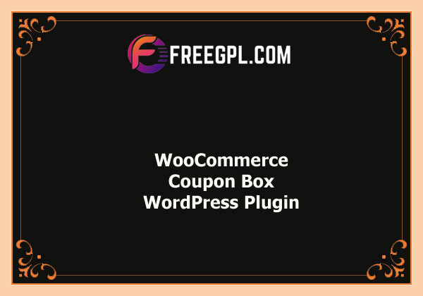 WooCommerce Coupon Box Nulled Download Free