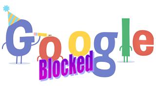 apakah google di blokir di indonesia?