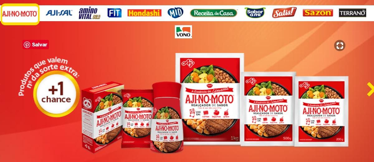 Cadastrar Promoção Ajinomoto 2021 - Prêmios, Participar