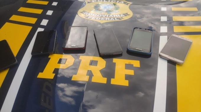 PRF prende peruano em Mossoró/RN por furto de celulares