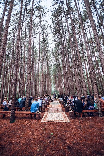 ceremonia en la naturaleza