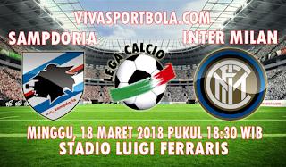Prediksi Sampdoria vs Inter Milan 18 Maret 2018