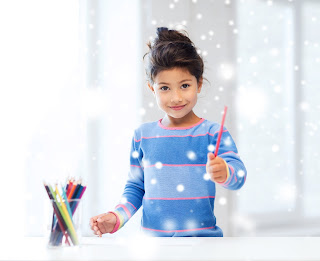 free printable winter mini book for kids coloring worksheets