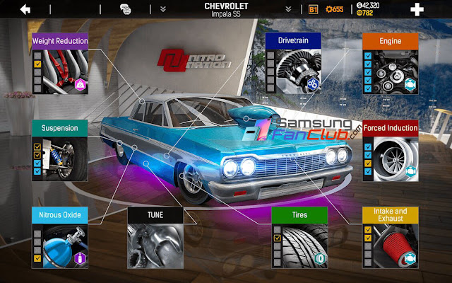 Download Nitro Nation Drag & Drift Game for Samsung Galaxy S10 Plus