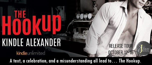 The Hookup by Kindle Alexander. A text, a celebration, and a misunderstanding all lead to… The Hookup.