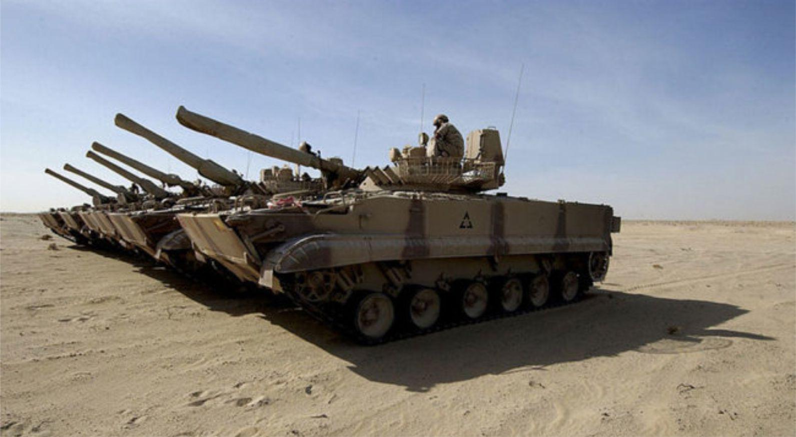 Irak menerima kiriman BMP-3M pertama