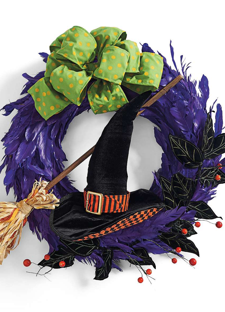 Grandin Road Hocus Pocus Wreath