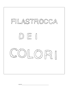 La maestra linda filastrocca dei colori for Maestra nella il libro dei colori