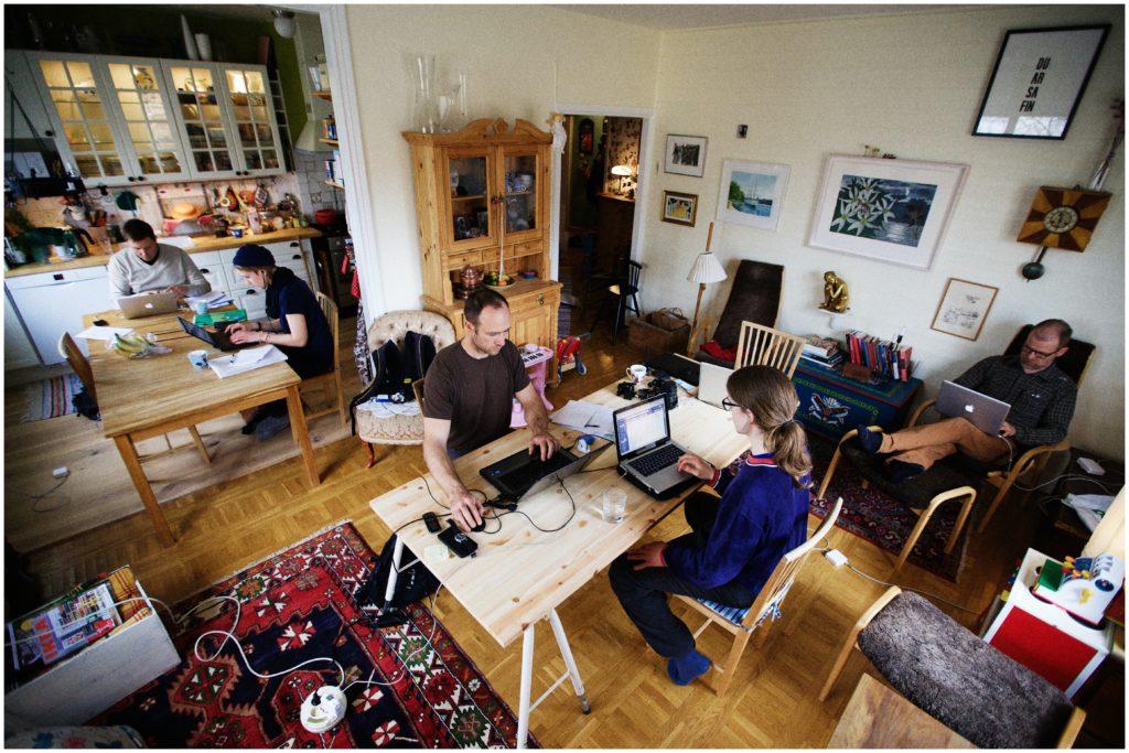 Del home office al hoffice, los nuevos conceptos de trabajo colectivo