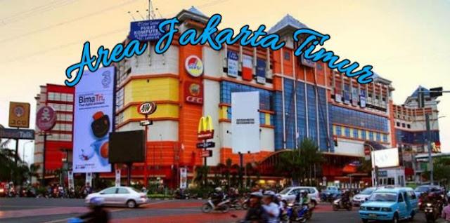 Spot orderan gosend Jakarta timur