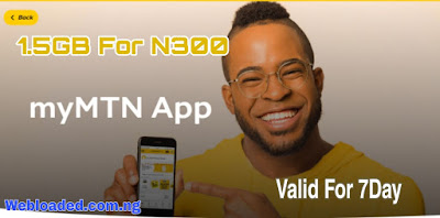 How To Get MTN 1.5GB For N300 Valid For 7days