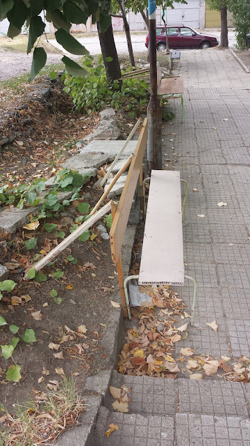 Unique Multi Materialed, Bench, Works, Yambol,