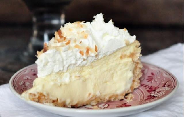 Coconut Cream Cheesecake #cake #desserts