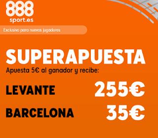 888sport superapuesta liga Levante vs Barcelona 2 noviembre 2019