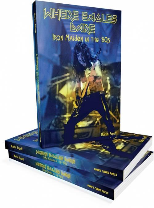 Martin Popoff lança novo livro sobre a fase de ouro do Iron Maiden