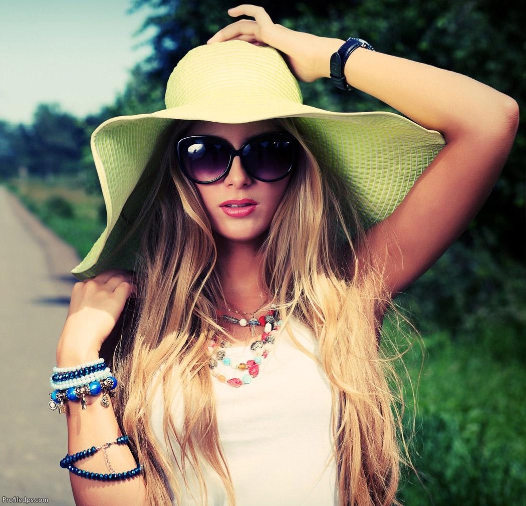 Stylish & Attitude Girl DP for Facebook