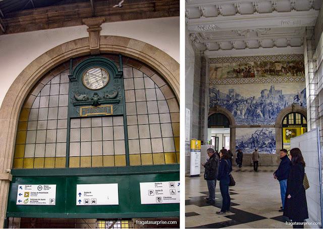 Estação de trens São Bento, Porto, Portugal