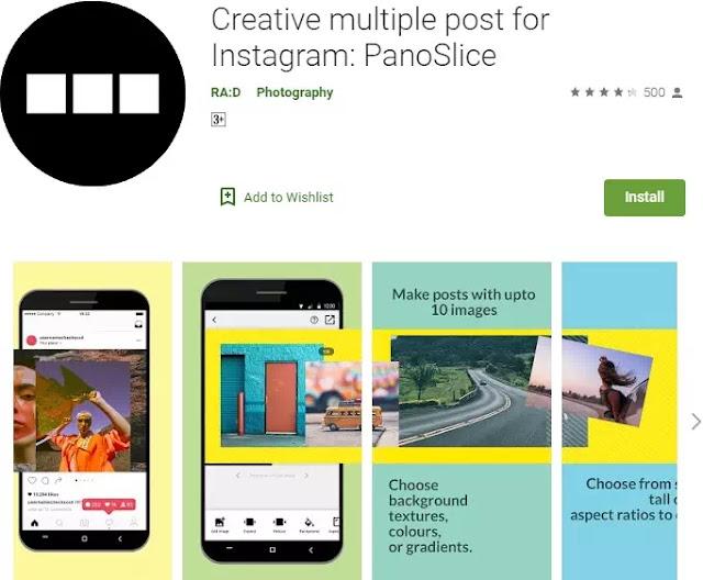 Cara membuat tampilan Instagram menjadi layout grid-2