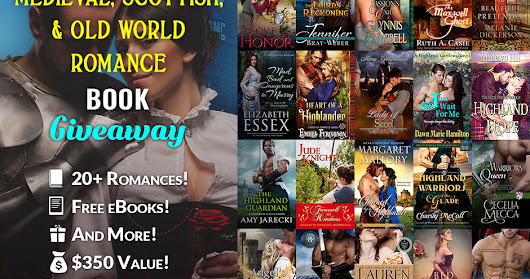 Historical Romance Giveaway (ends July 11th)