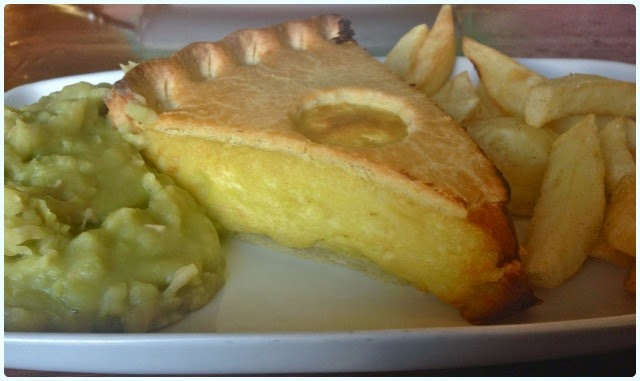 The Gerrard Arms, Aspull - Cheese Pie