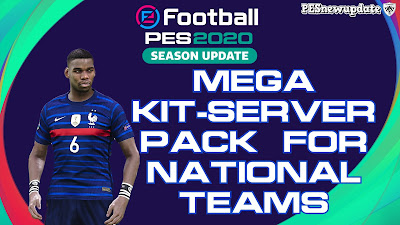 PES 2020 Mega Kit-Server Pack National Teams by Fallons