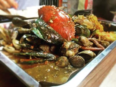 harga seafood kiloan bang bopak