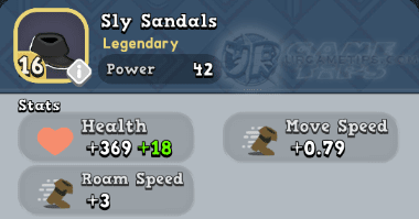 World of Legends - Sly Sandals