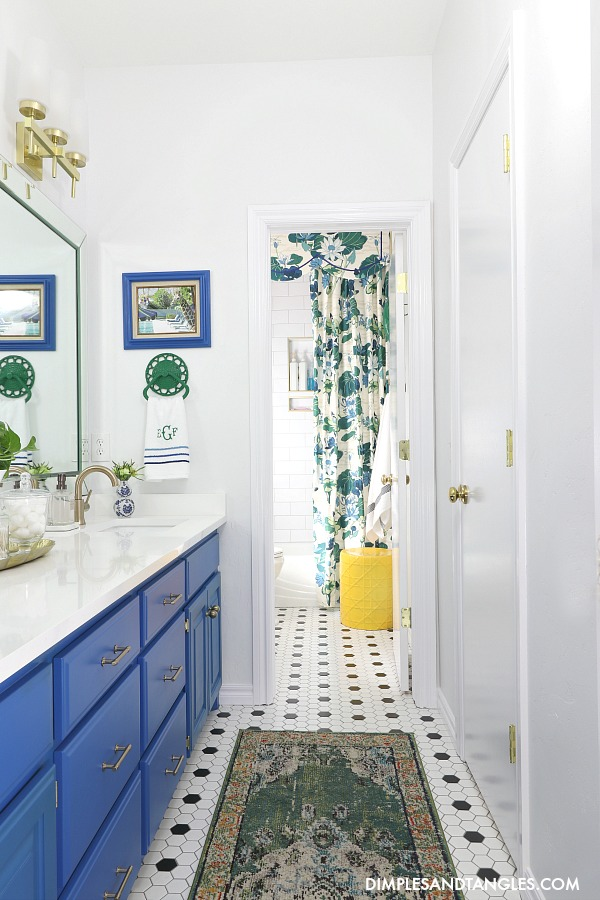 Kids Jack And Jill Bathroom Reveal Dimples And Tangles