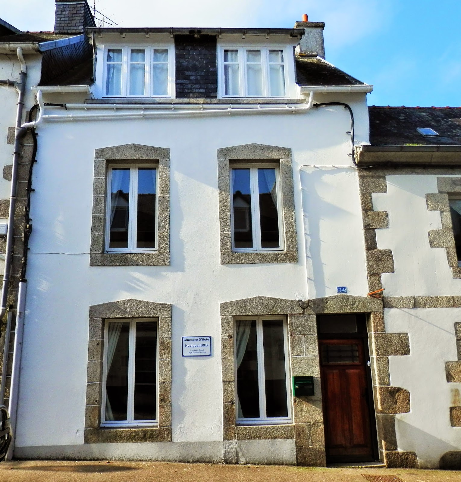 Renovation of a Derelict House in Brittany France B&B for sale