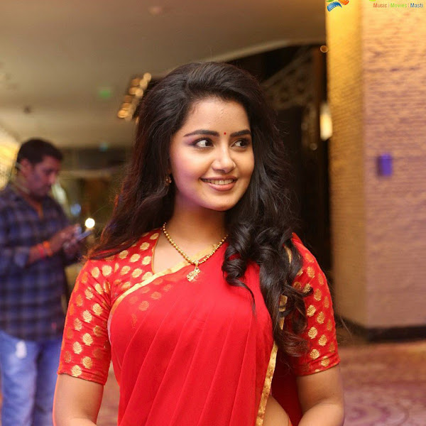 Anupama Parameswaran latest photos from Sathamanam Bhavathi success meet