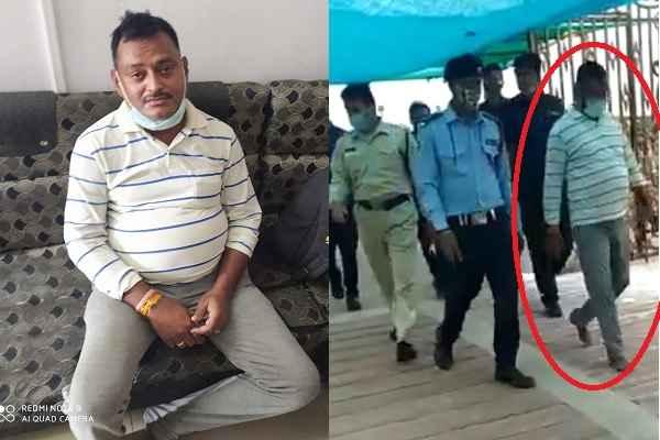 vikas-dubey-arrested-in-ujjain-mahakal-mandir-by-mp-police-news