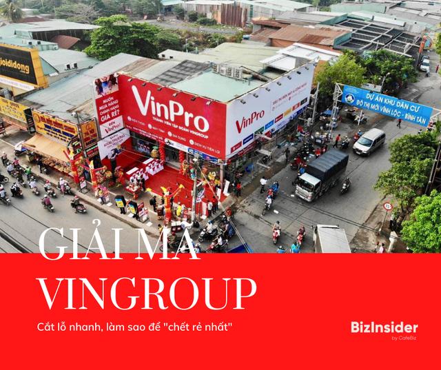 """Giải mã chiến lược phía sau những cú """"đóng nhanh, cắt gọn"""" của Vingroup: Bán VinMart, VinEco cho Masan, dừng sản xuất Vsmart, giải thể nhanh Vinpro, Adayroi,..."""