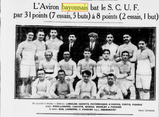 rugby champion de france 1913