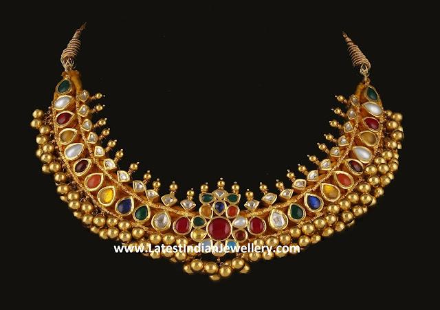 Navaratna Thushi Necklace