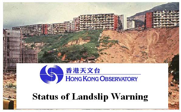 Waspada...! Observatory Hong Kong Keluarkan Peringatan Status Bencana Longsor