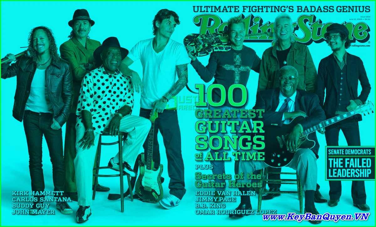 Tổng hợp 100 bài Guitar Rock & Roll hay nhất mọi thời đại