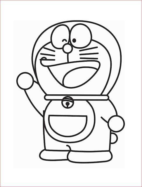 gambar-sketsa-kartun-doraemon