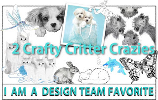 2 Crafty Critter Crazies DT Favourite