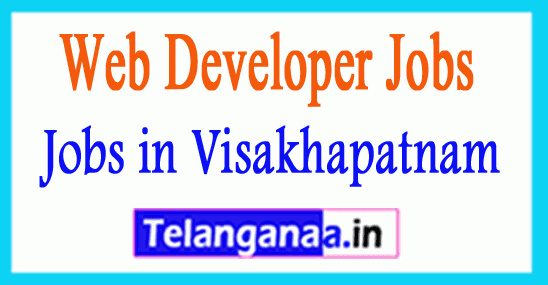 Web Developer Jobs in Visakhapatnam Andhra Pradesh