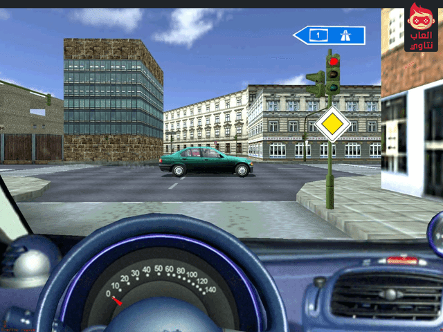تحميل لعبة تعليم سياقة السيارات Driving Simulator برابط مباشر