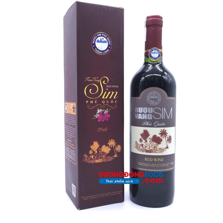 Rượu vang sim đặc biệt